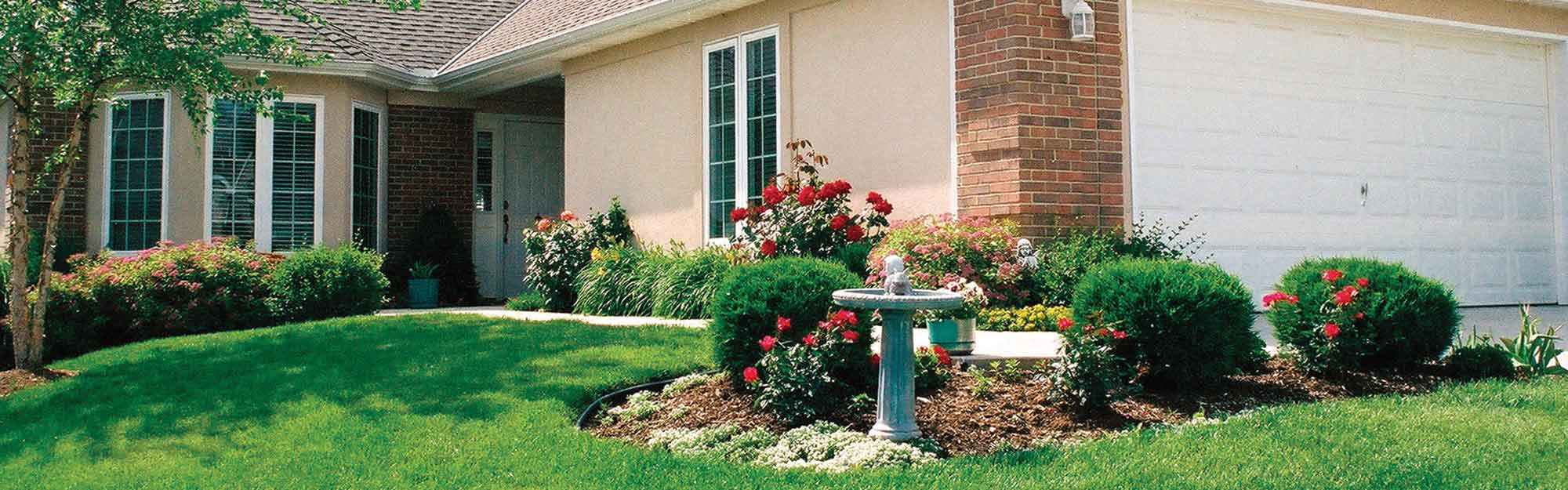 Image of a garden at Kingswood Senior Living Located in Kansas City, MO.